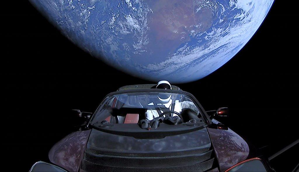 Tesla-Starman-SpaceX-Mars