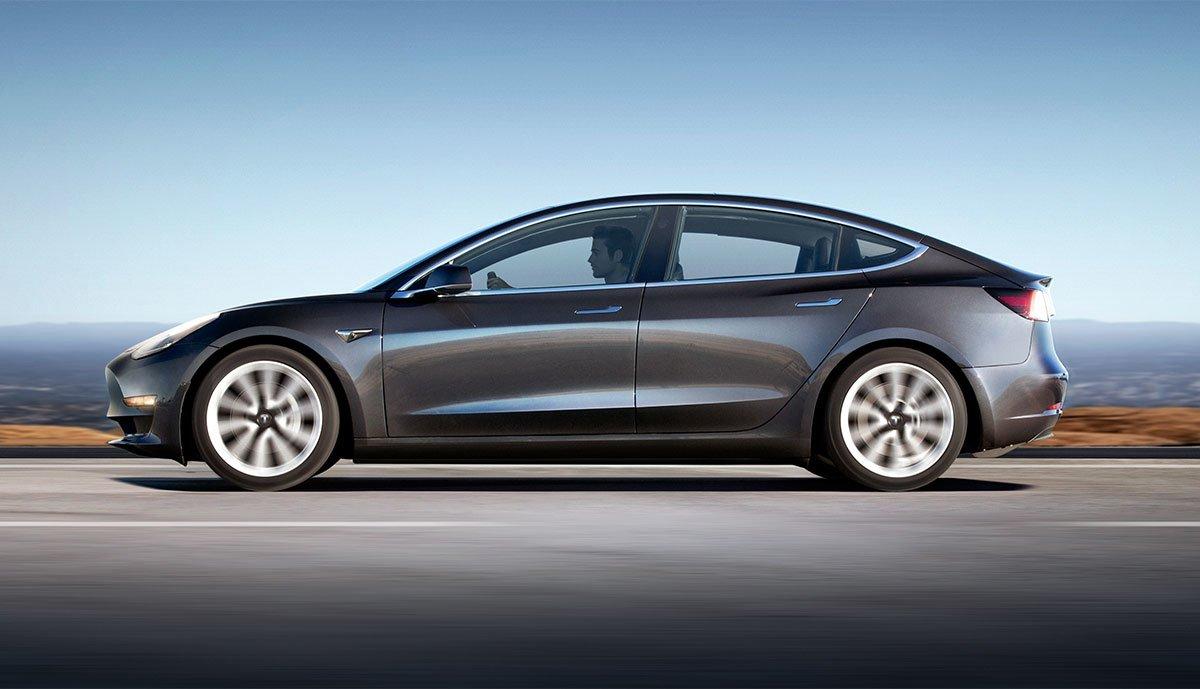 Tesla Model 3 Niederlande