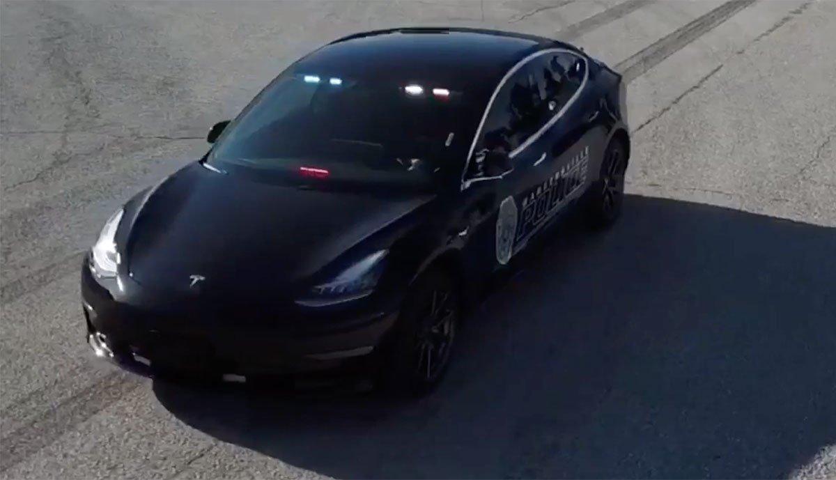 Gute Erfahrungen mit Tesla Model 3 als Polizeiauto > teslamag.de