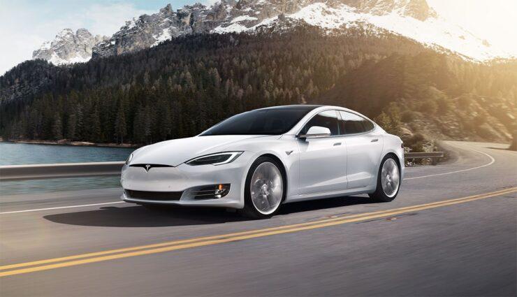 Tesla-Reichweite
