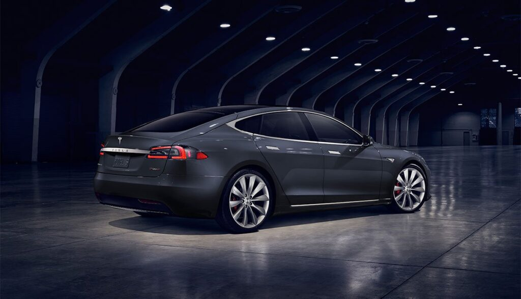 Tesla-Felge