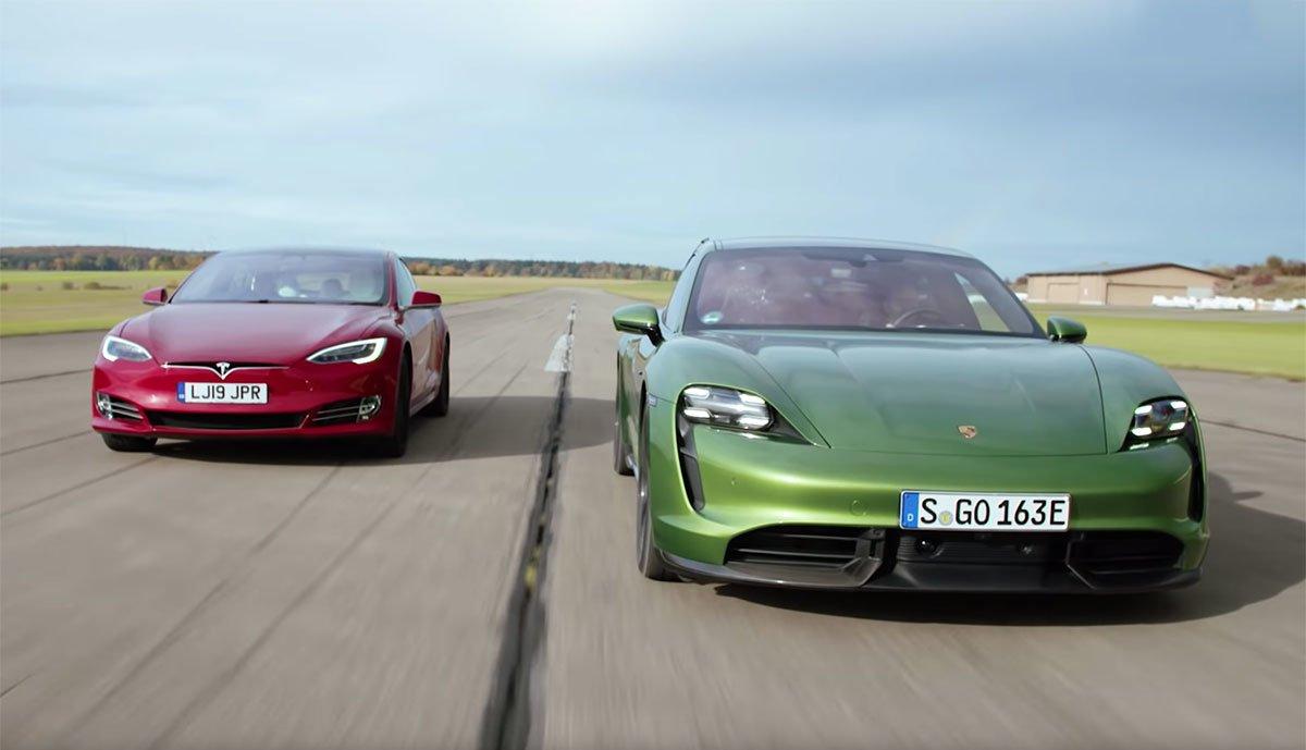 Tesla-Model-S-Porsche-Taycan