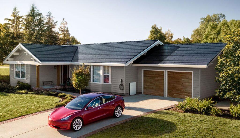 Tesla-Solardach
