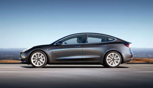 Tesla-Taxi