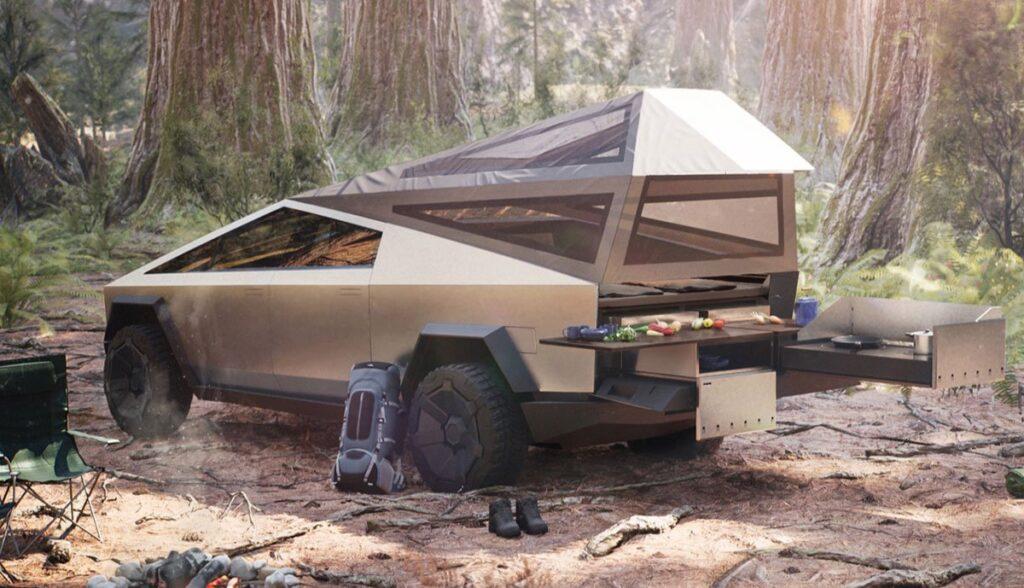 Tesla-Cybertruck-Camping