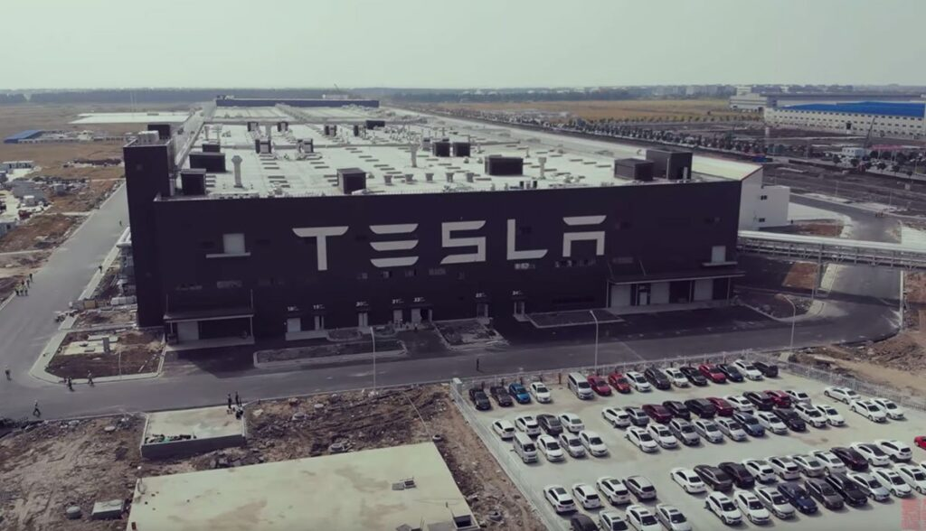 Tesla-Gigafabrik-China