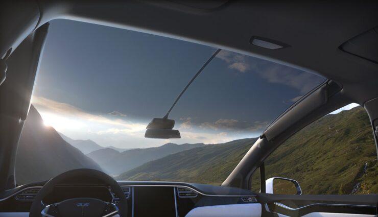 Tesla-Model-X-Scheiben