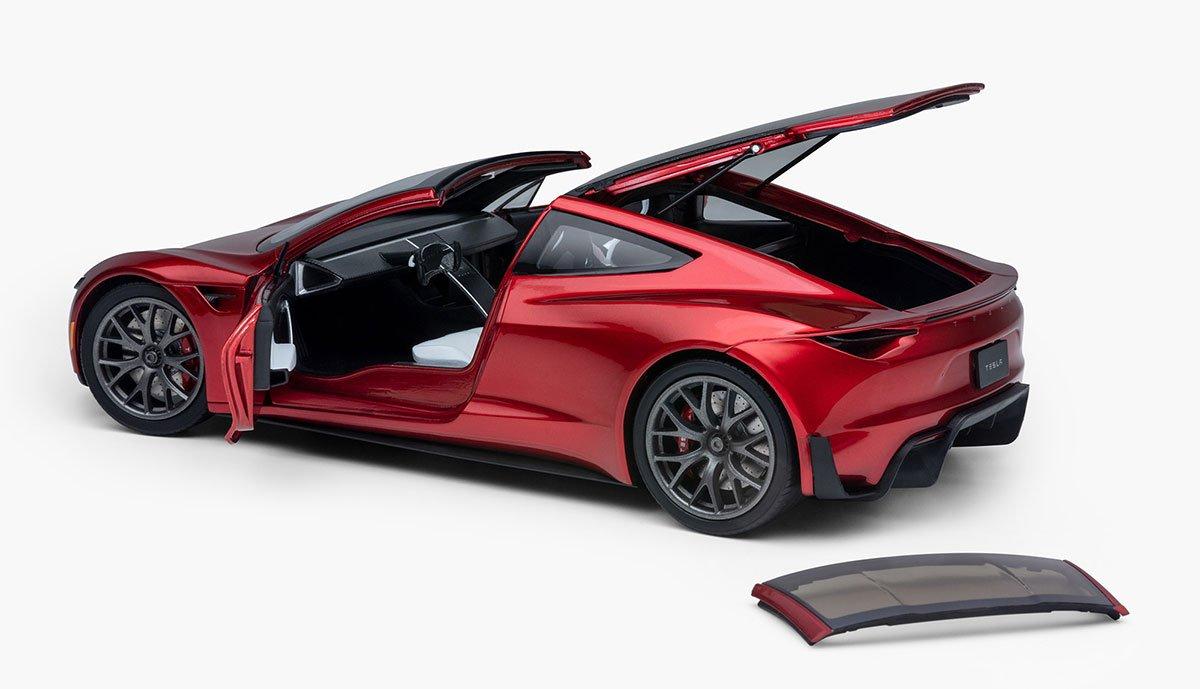 Tesla-Roadster-2020-Modellauto