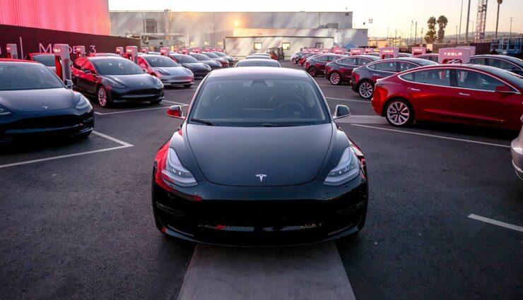 Tesla-Verkaufszahlen
