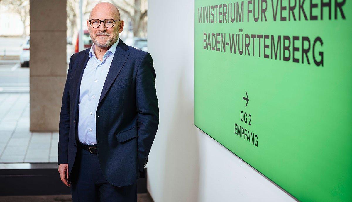 BW-Verkehrsminister Winfried Hermann_