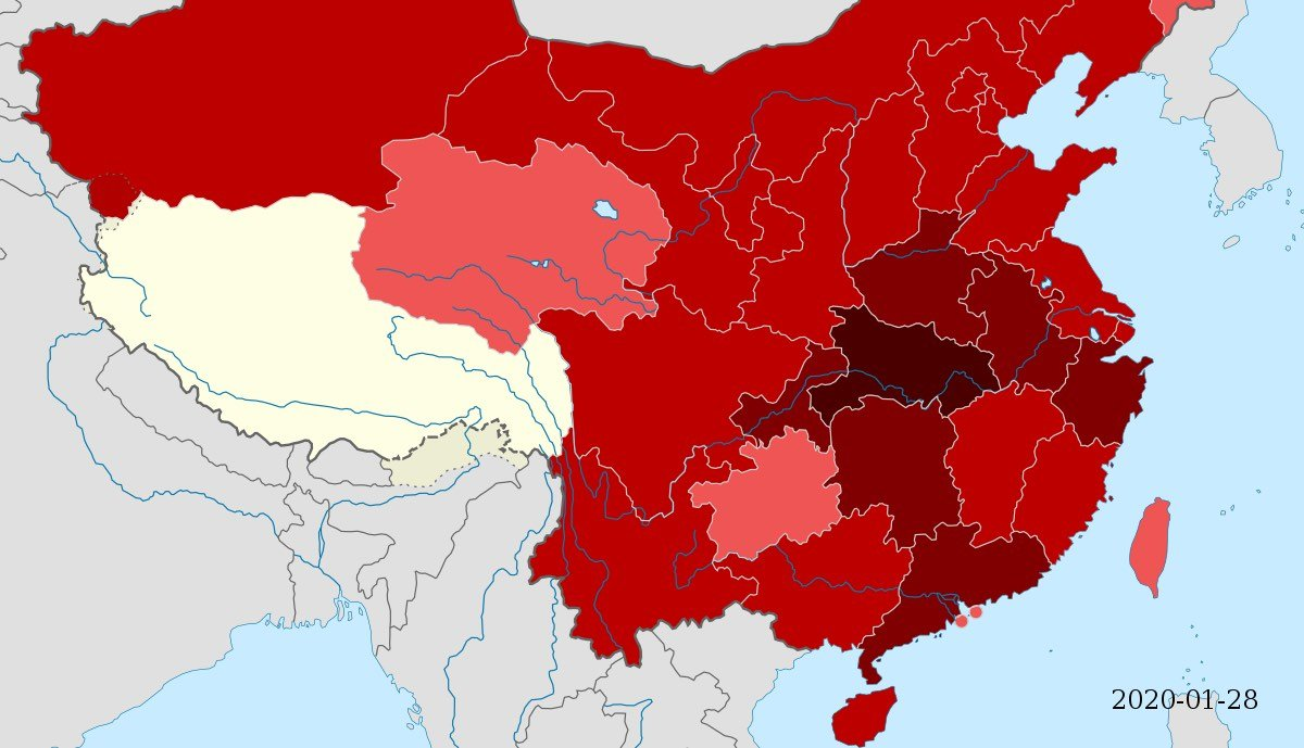 Coronavirus Infektionen China