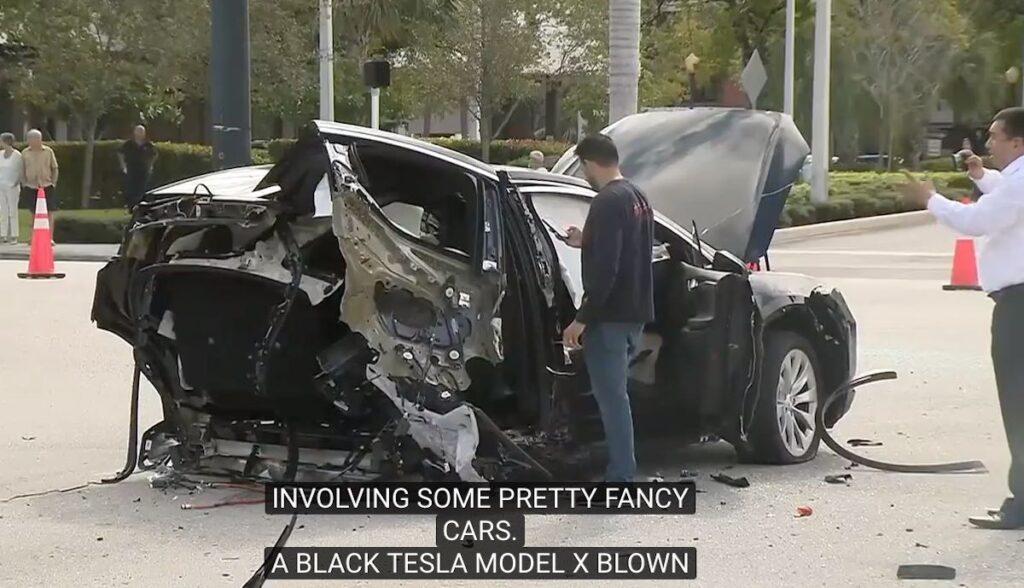 model-x crash