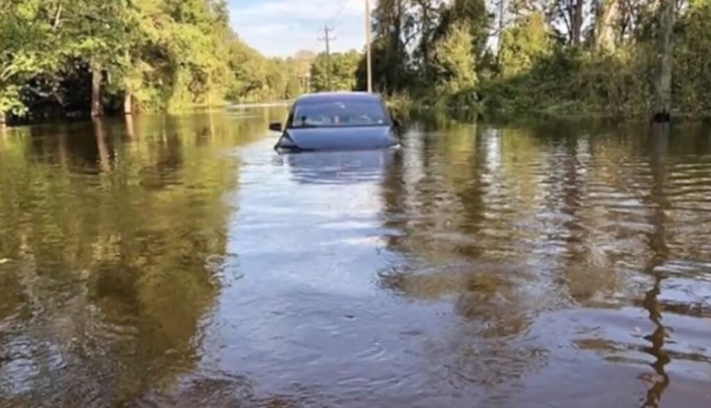 model x flooded