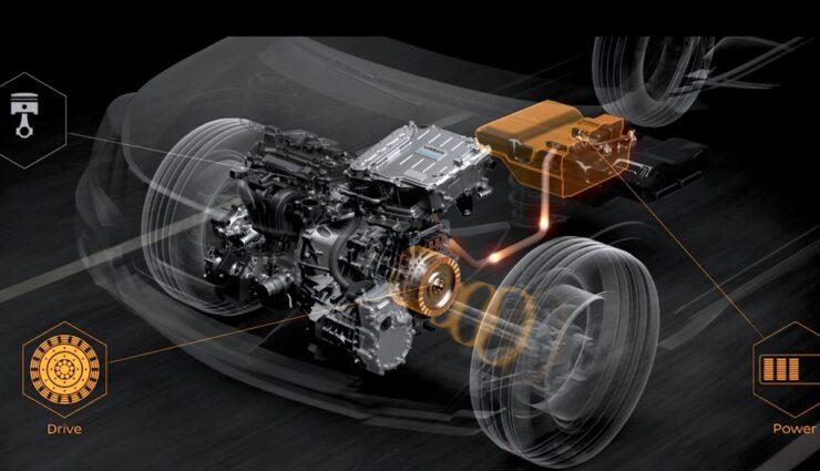 nissan e-power hybrid
