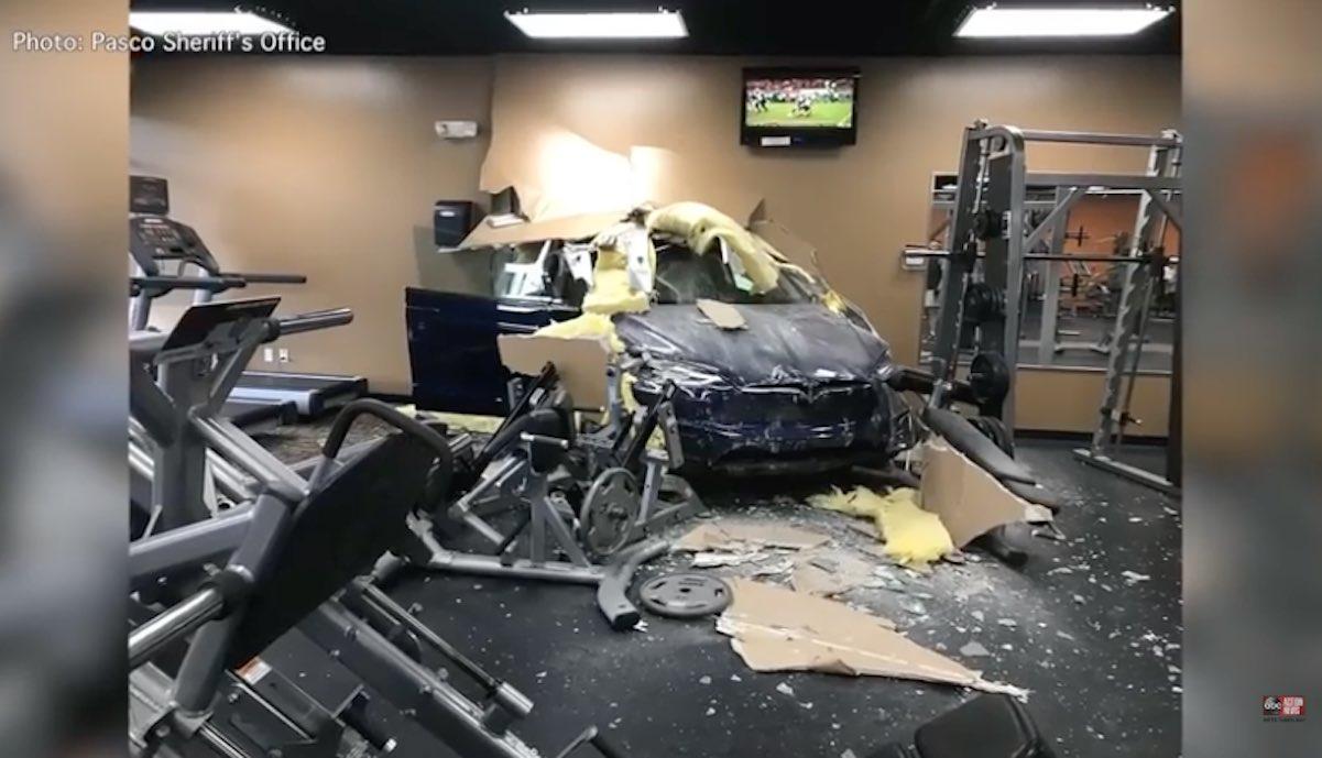 teslax crash unintended