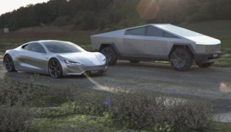 Cybertruck vs. Roadster