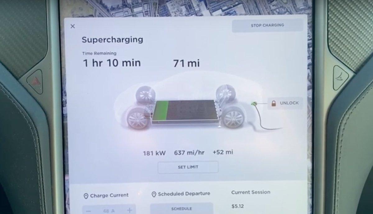 Supercharger V3 Tesla Raven