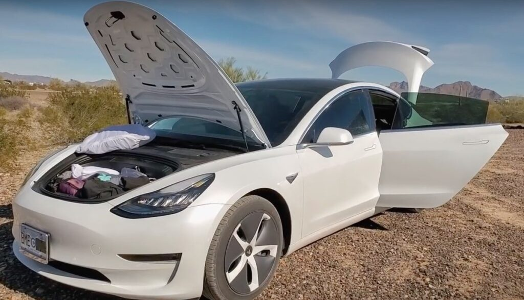Tesla Model 3 Tiny Home