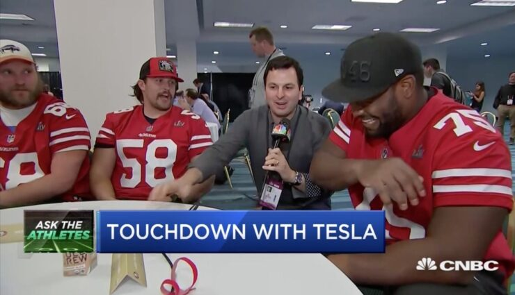 Tesla Super Bowl