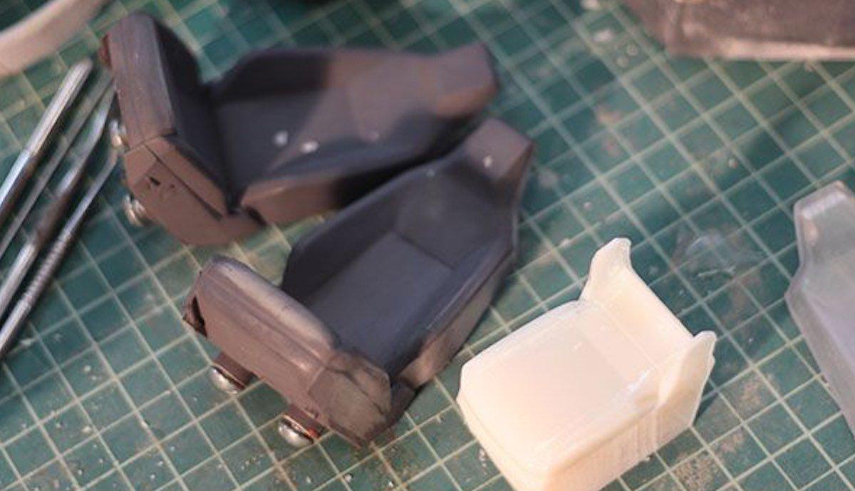 tesla cybertruck modell sitze