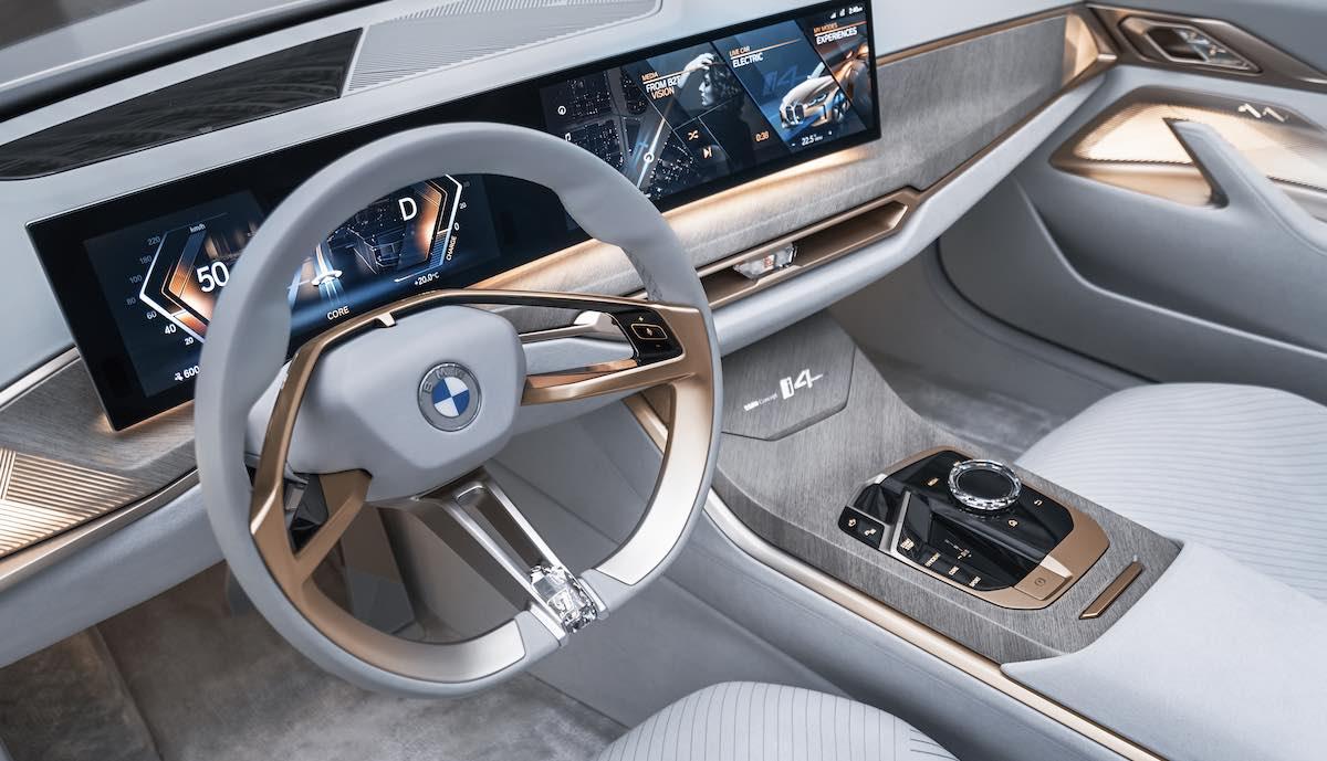 bmw concept i4 cockpit