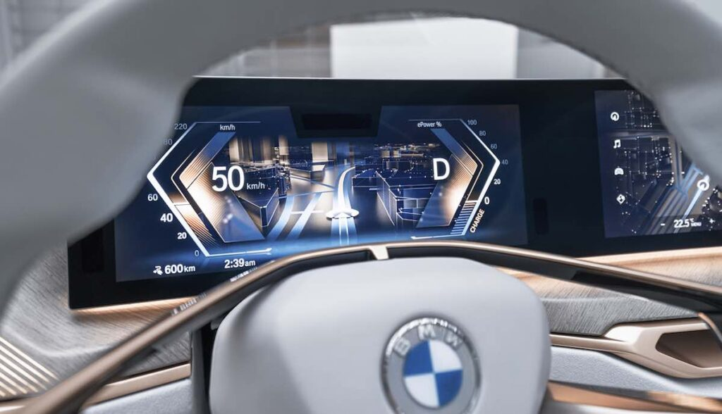 bmw i4 concept cockpit close