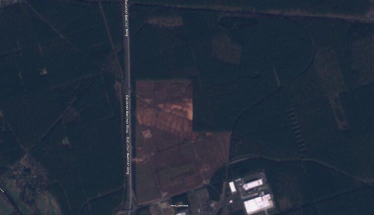 tesla giga berlin satellit 140320