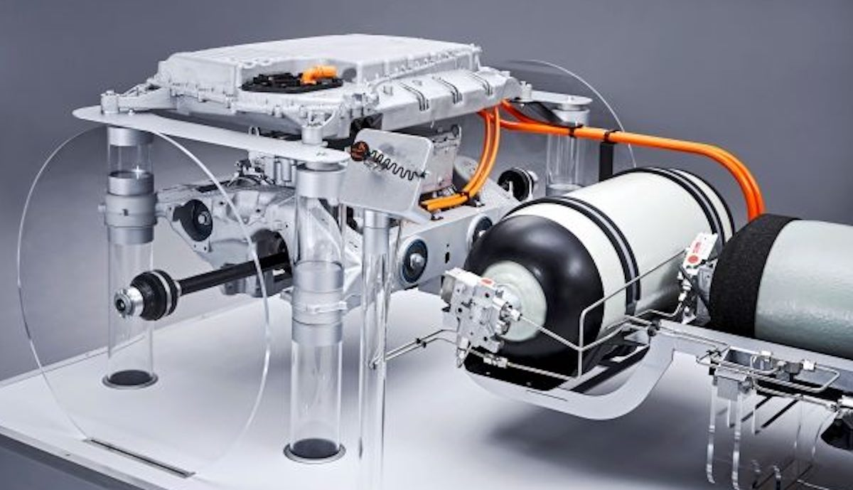 bmw hydrogen inext akku motor