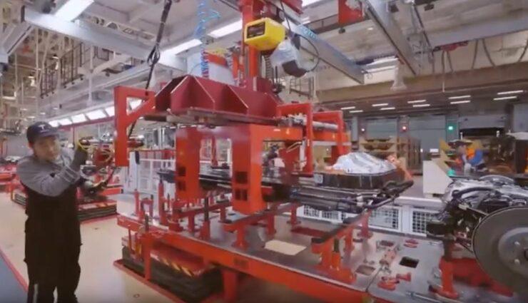 tesla model-3 gigafactory china hochzeit