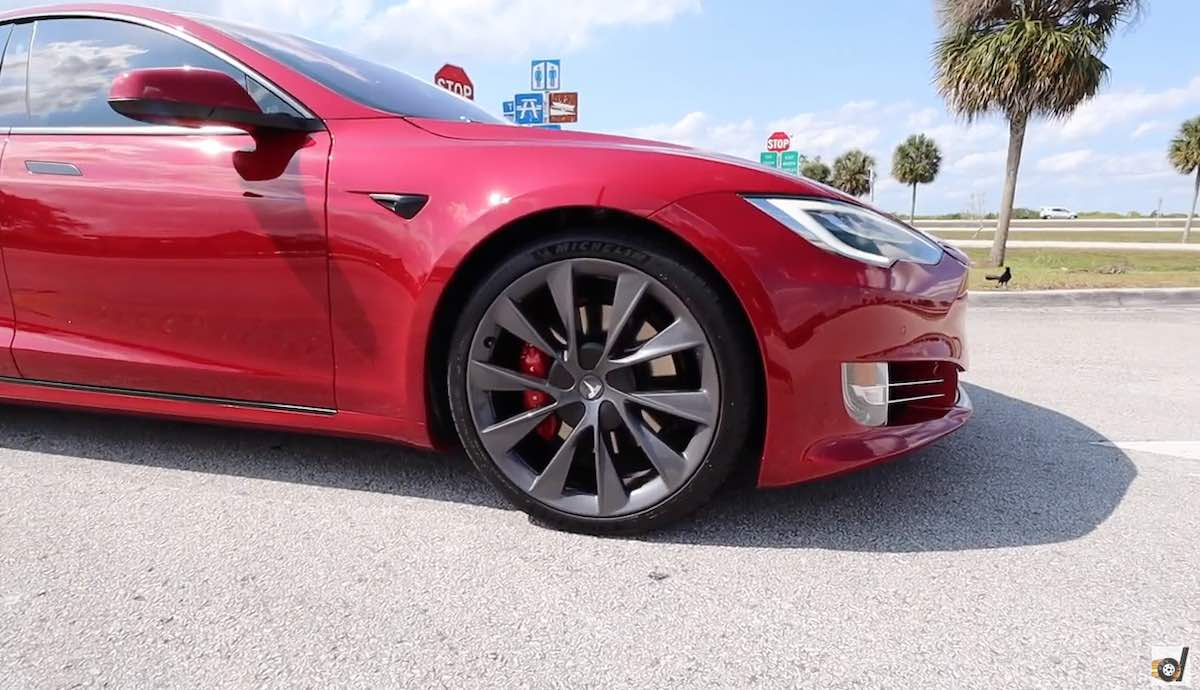"Tesla Model S Performance makes it onto the list of the most important modern US ""muscle cars"""