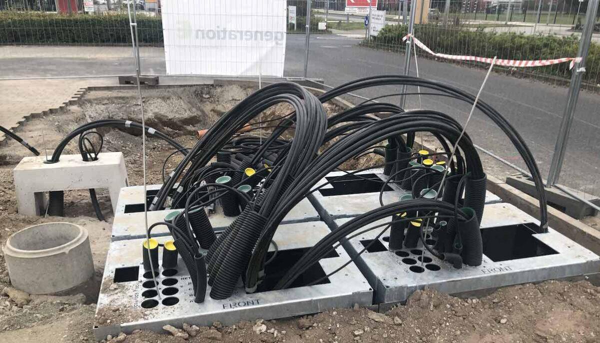 tesla supercharger ffm bau kabel