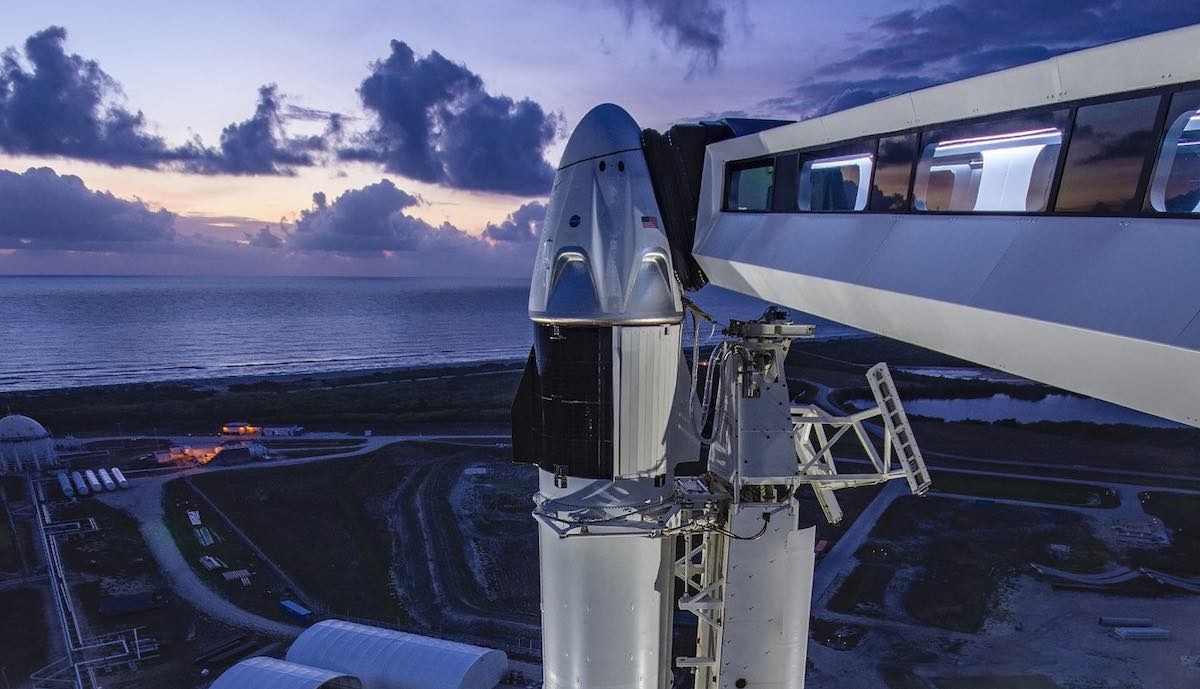 spacex crew dragon arm