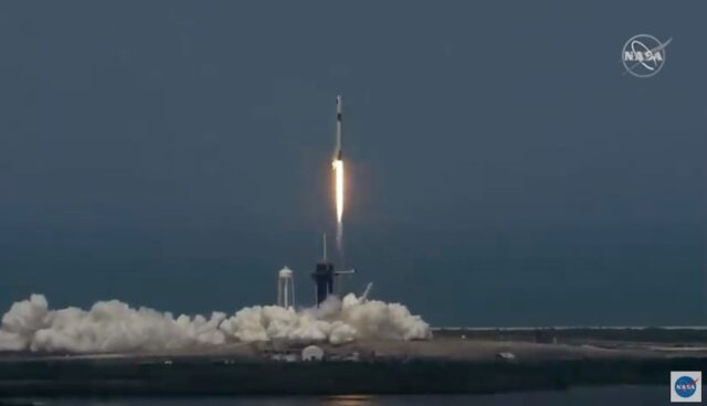 spacex demo-2 start 300520