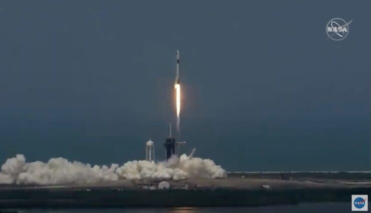 spacex demo-2 start 300520