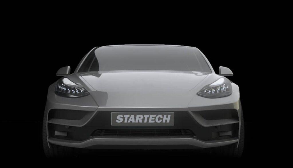 tesla model-3 startech front