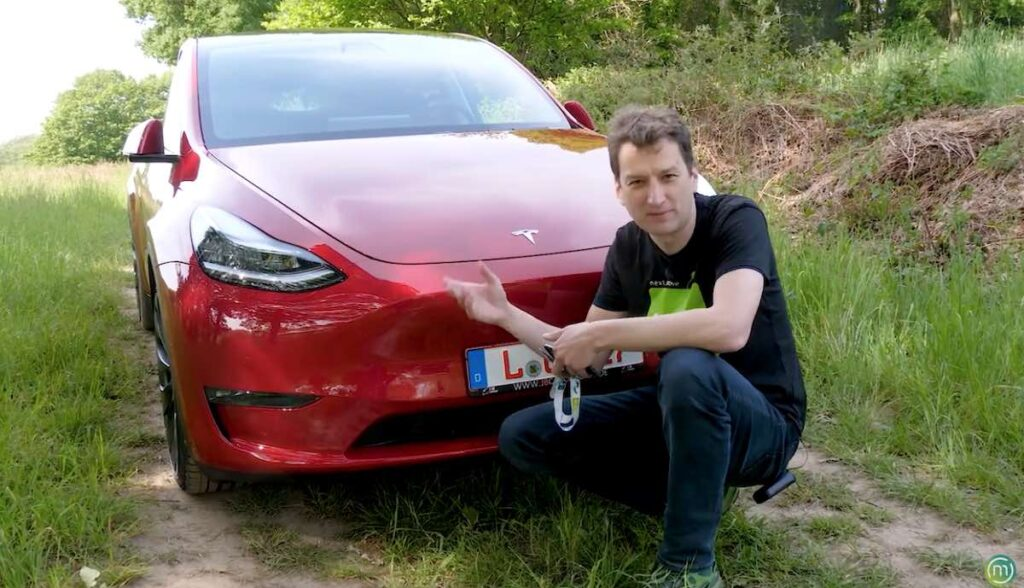 tesla model-y nextmove test