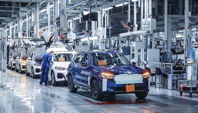 bmw ix3 produktion china