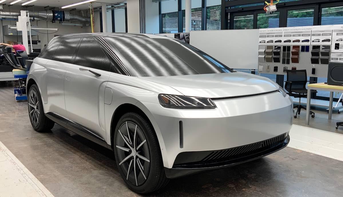 dyson elektroauto prototyp silber