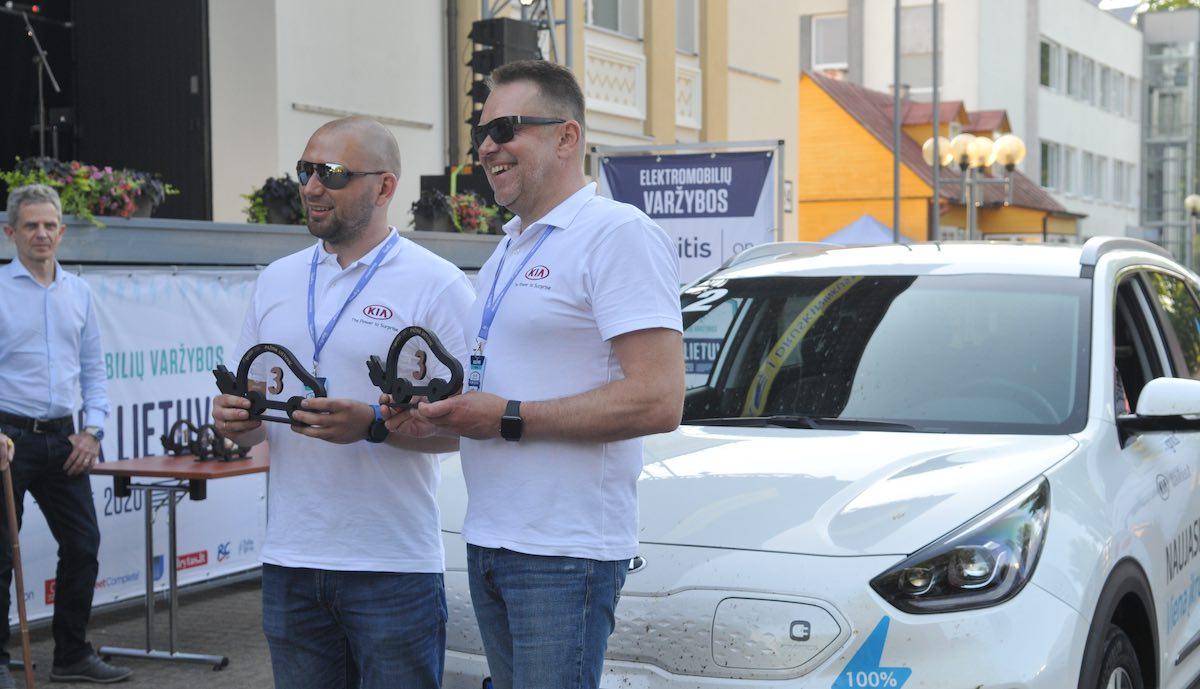 elektroauto rally litauen kia e-niro