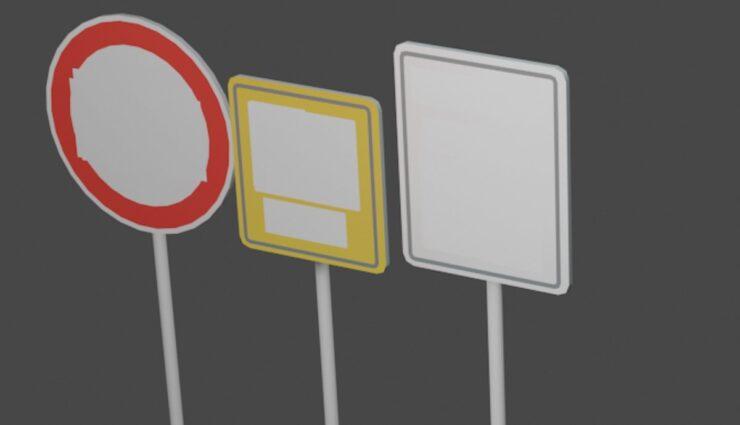 tesla autopilot schilder tempolimit