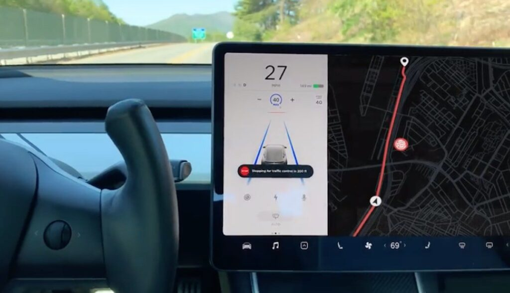 tesla model-3 burger king autopilot werbung