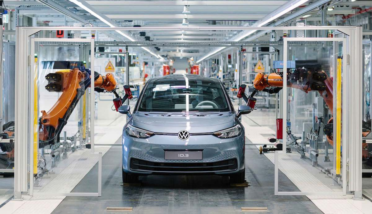 vw id.3 produktion