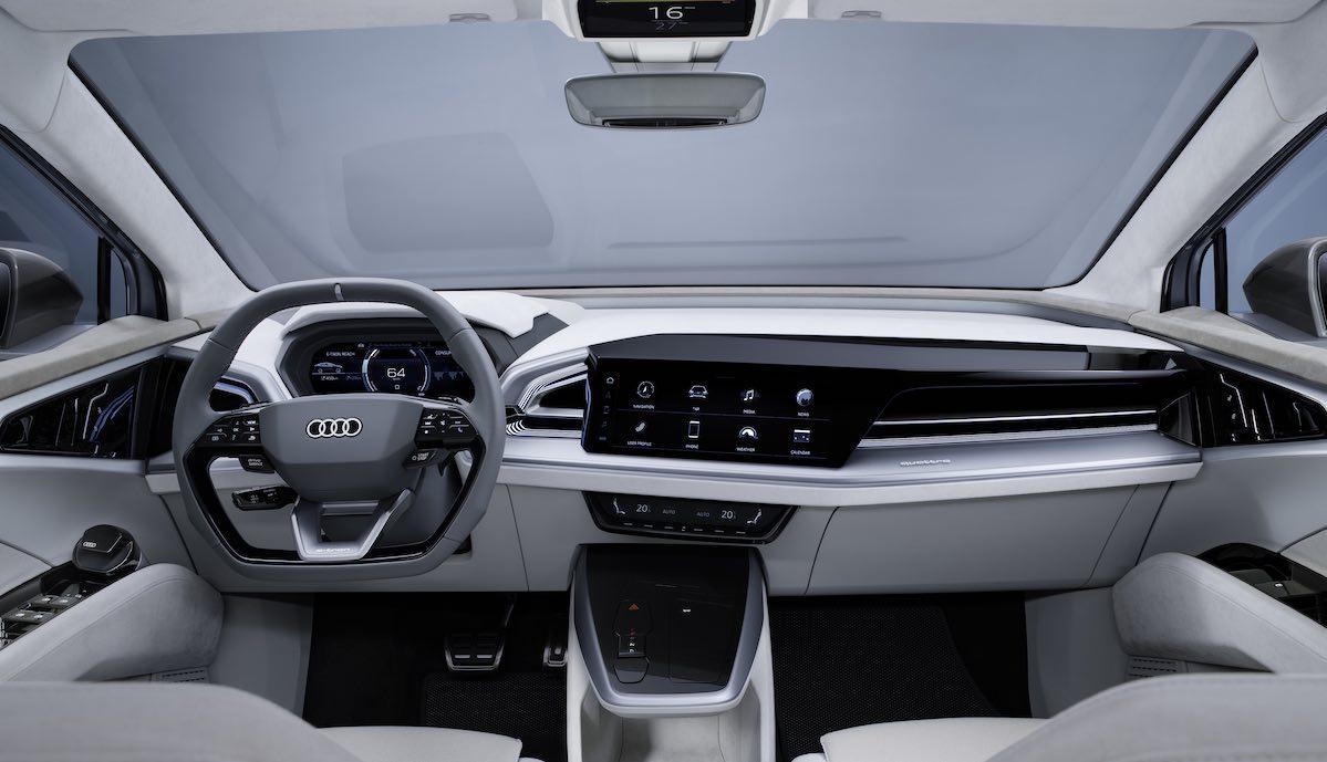 audi q4 e-tron sportback cockpit