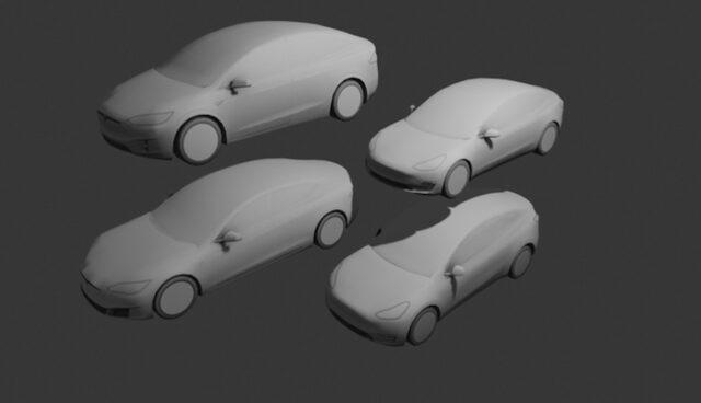 tesla autopilot modelle grau