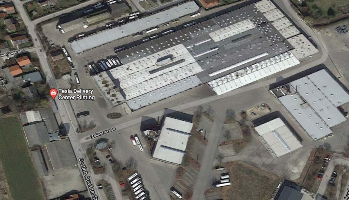 tesla zentrum pilsting google maps
