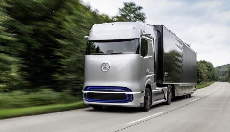 Mercedes-Benz GenH2 TruckMercedes-Benz GenH2 Truck