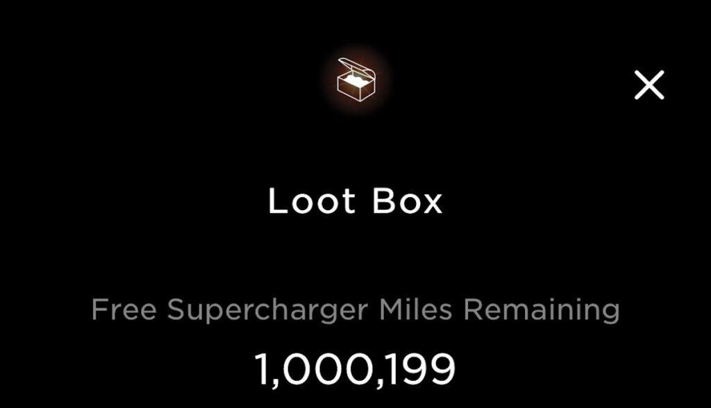 tesla app loot box lambert