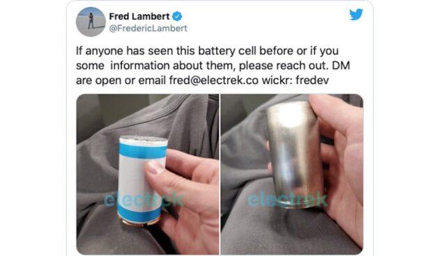 tesla batterie zellen electrek roadrunner
