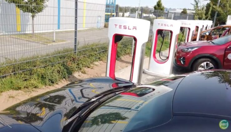 tesla supercharger v3 frei laden hermsdorf