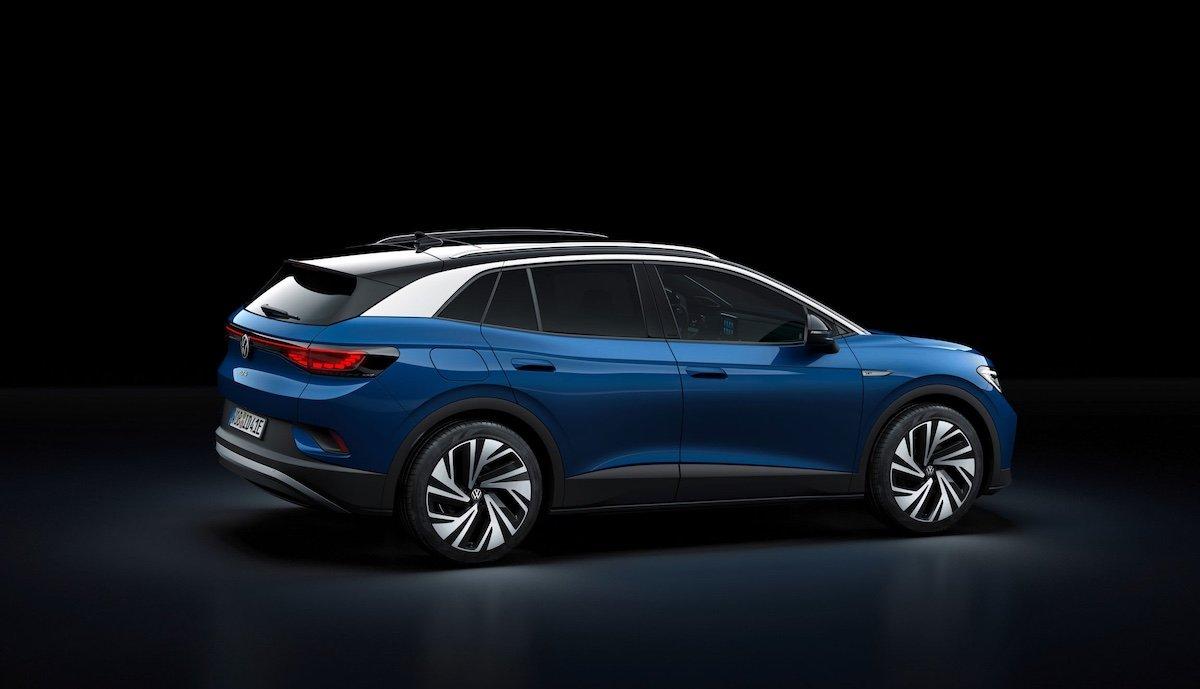 Crossover-Elektroauto VW ID.4: Frühe Alternative zu Tesla ...